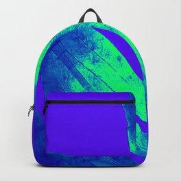 Blue Ultraviolet Green Earth Day Fern Backpack