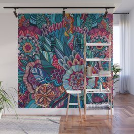 flowers /Agat/ Wall Mural