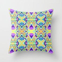 Organic Worlds Throw Pillow