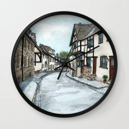 Mill Street North, Warwick U.K. Wall Clock