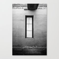 Lonely Window Canvas Print