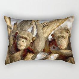 Western Lowland Gorillas Rectangular Pillow