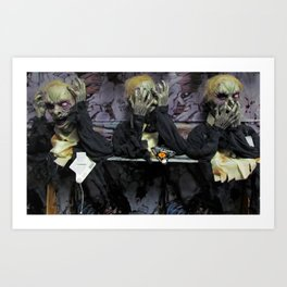 Hear No Evil, See No Evil, Speak No Evil Art Print
