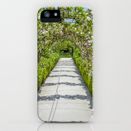 The Lost Gardens of Heligan - Vegetable Garden Apple Arches iPhone Case