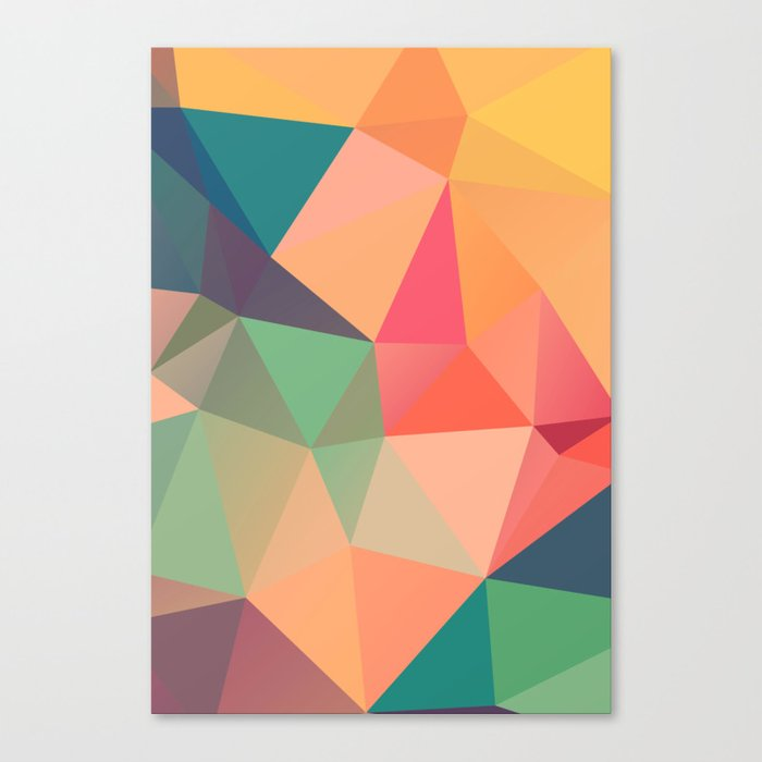Geometric XV Canvas Print