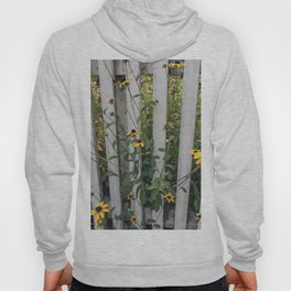 Fenced In Black Eyed Susans Hoody
