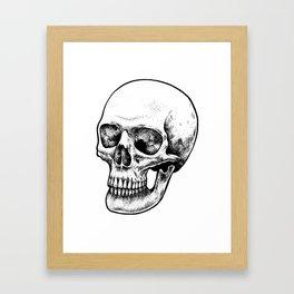 Human Head Framed Art Print