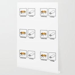 British vs US Bee Wallpaper