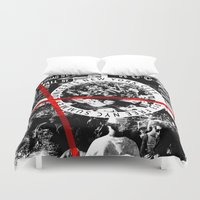 concert Duvet Covers featuring Concert by emeget