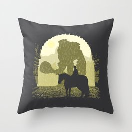 Forbidden Lands Throw Pillow