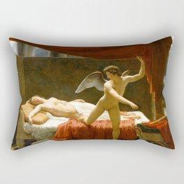 Cupid and Psyche Rectangular Pillow