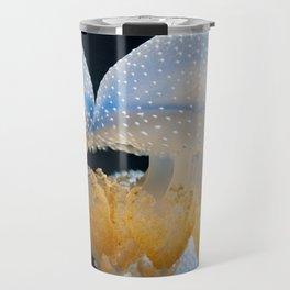 Double Blue Jellyfish - Underwater Photography Travel Mug