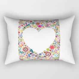 Frame's heart I Rectangular Pillow