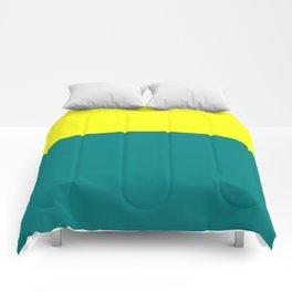 Yellow Teal Comforters