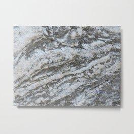 TEXTURES -- Riverstone #1 Metal Print