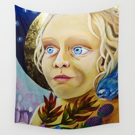 Lucy, the Angel of Light Wall Tapestry