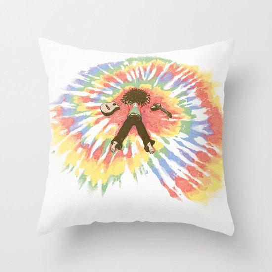 Tie Die Throw Pillow