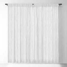 Platinum Lines Never Fail - Light Gray Blackout Curtain