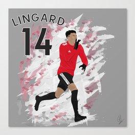 Jesse Lingard - Manchester United Canvas Print