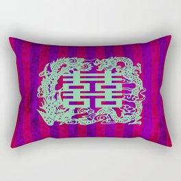 Double Happiness Rectangular Pillow