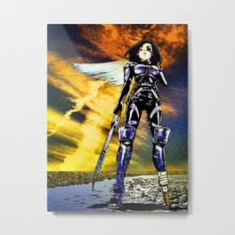 Ouroboros – Battle Angel Alita Metal Print