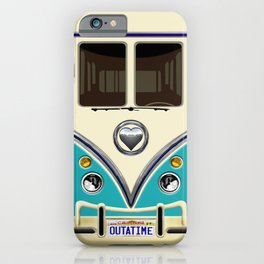 Blue teal minibus lovebug iPhone 4 4s 5 5c 6 7, pillow case, mugs and tshirt iPhone Case