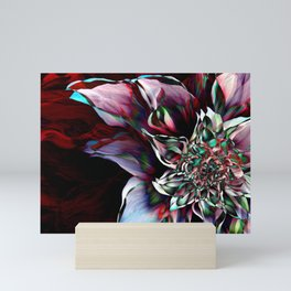 Watercolor Flower Abstract Mini Art Print
