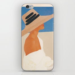 Summer Hat iPhone Skin