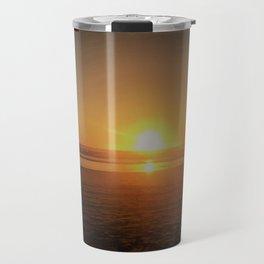 Pismo Beach Sunset Travel Mug