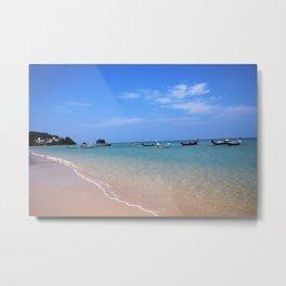 Nai Yang Beach Boats Metal Print