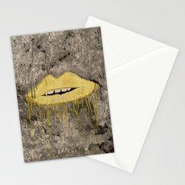Lippy drippy. Stationery Cards