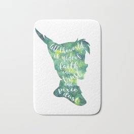 Peter Pan Pixie Dust Bath Mat
