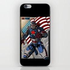 Iron Patriot iPhone & iPod Skin