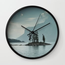 Obscured Thoughts Wall Clock