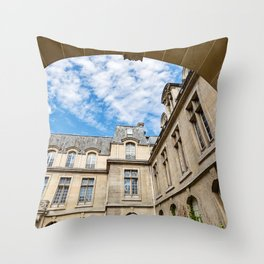 Paris Arch Throw Pillow