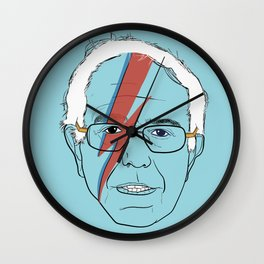 Blue Bernie Sanders 2016 Wall Clock