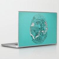 victorian Laptop & iPad Skins featuring Victorian London by Meritxell Garcia