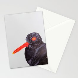 Black Oystercatcher Stationery Cards