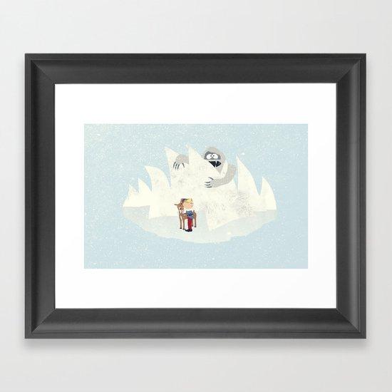 Douse the Light Framed Art Print