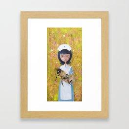 Honey, Baby Framed Art Print