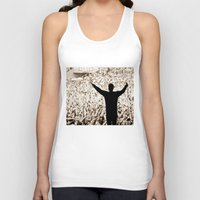 concert Tank Tops featuring concert by fscVisuals