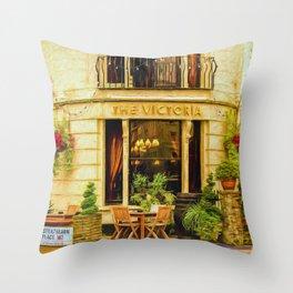 The Victoria Throw Pillow