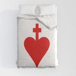 sacred heart 5 Sacratissimum Cor Iesu Sacré cœur Sagrado Corazón Comforters
