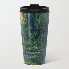 Claude Monet Dark Water  Lilies Travel Mug