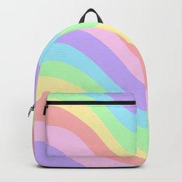 Unicorn Retro Summer Wave #1 #minimal #decor #art #society6 Backpack