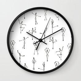 Dance ballerina dance Wall Clock