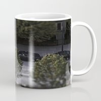 cars Mugs featuring Cars by James Lyle