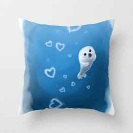 Love, From Baby Seal Throw Pillow