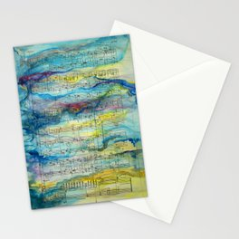 Tonal Conversations: Jazz Orchestra and Painted Animation Stationery Cards