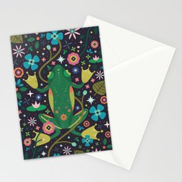 Botanical Frog Stationery Cards